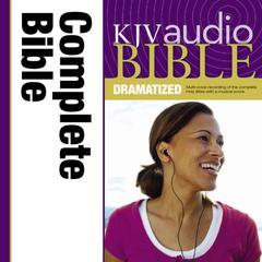 Dramatized Audio Bible - King James Version, KJV: Complete Bible Audiobook, by Zondervan