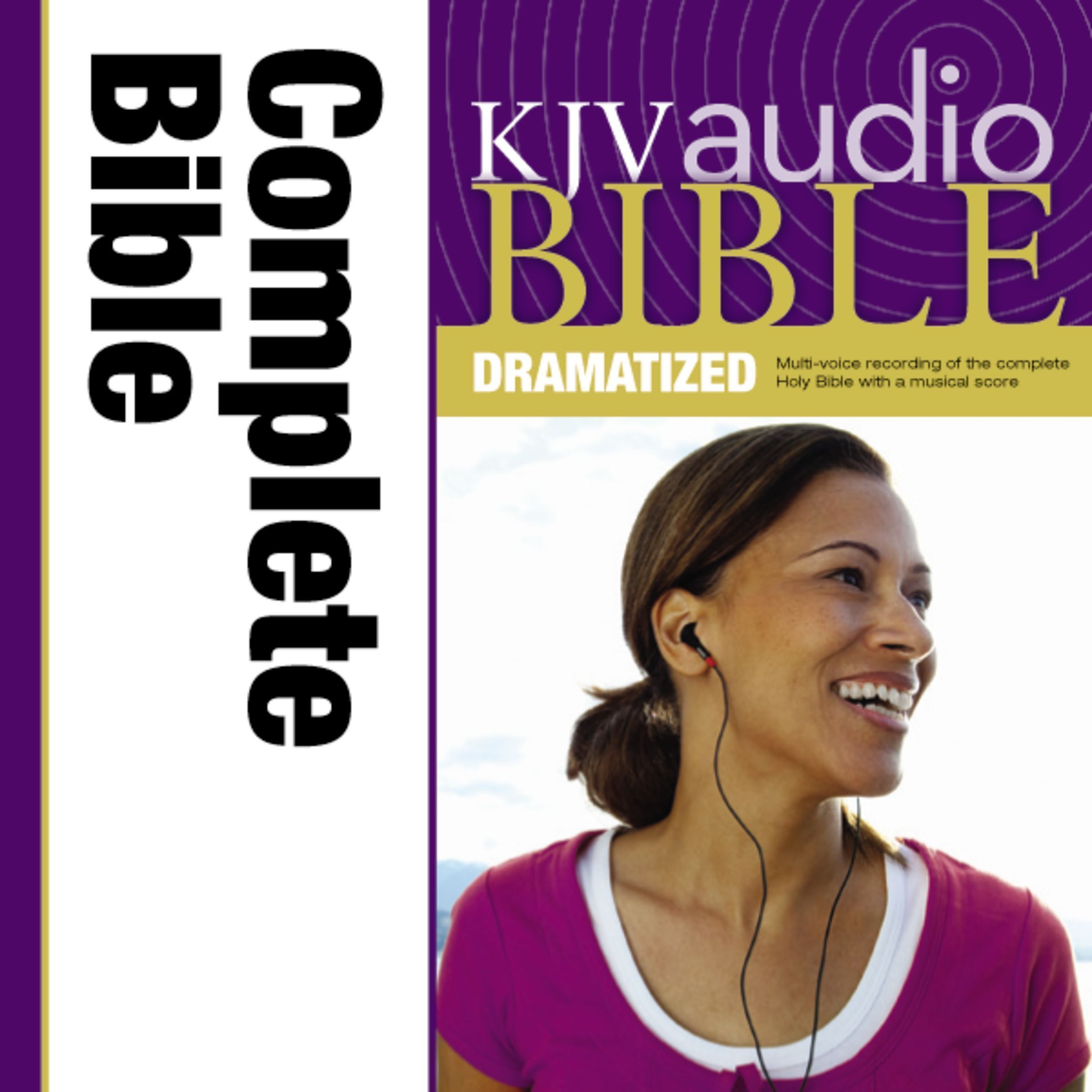 Printable KJV, Complete Bible Dramatized, Audio Download Audiobook Cover Art