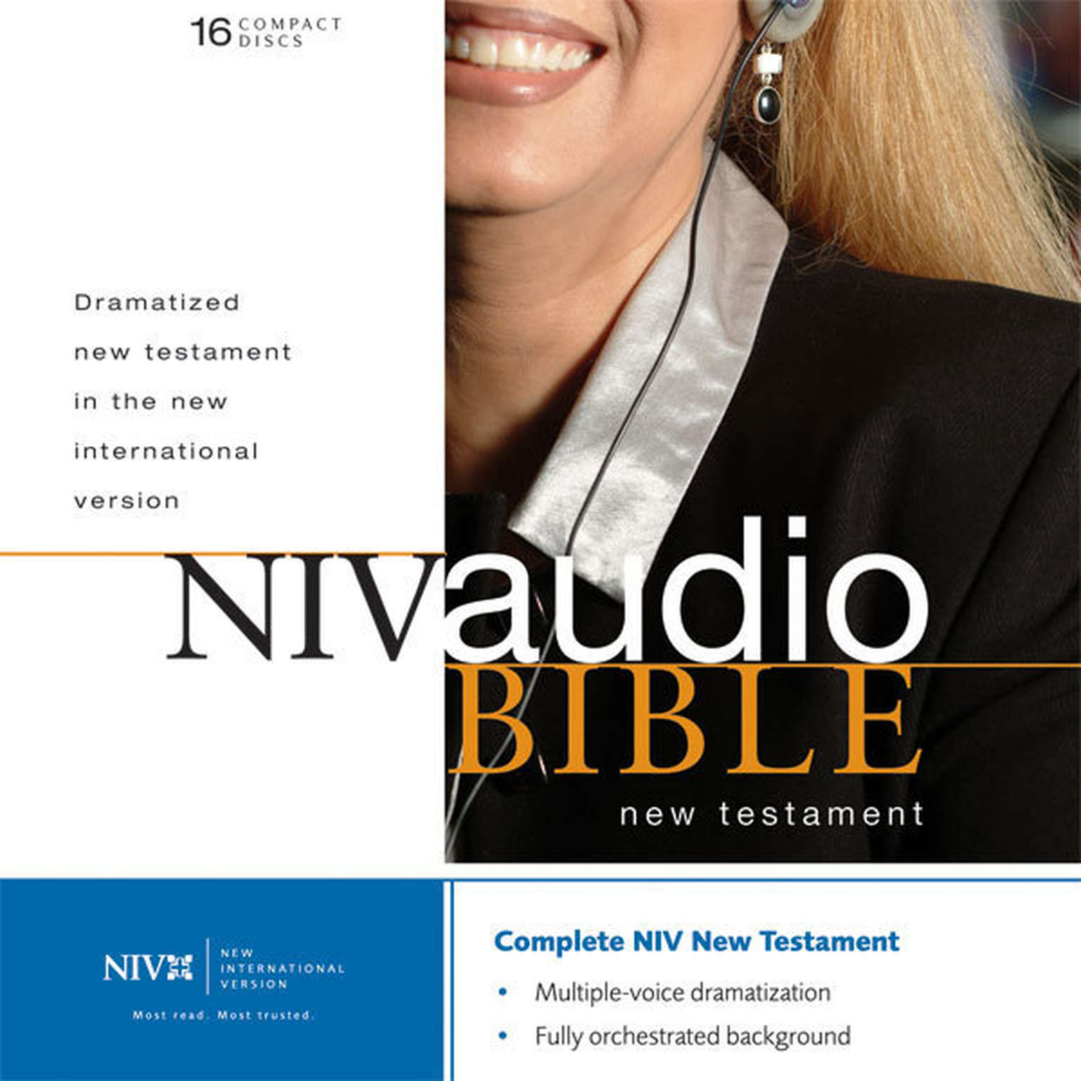 Printable NIV, Dramatized Audio New Testament, Audio Download: Multi-voice Edition Audiobook Cover Art