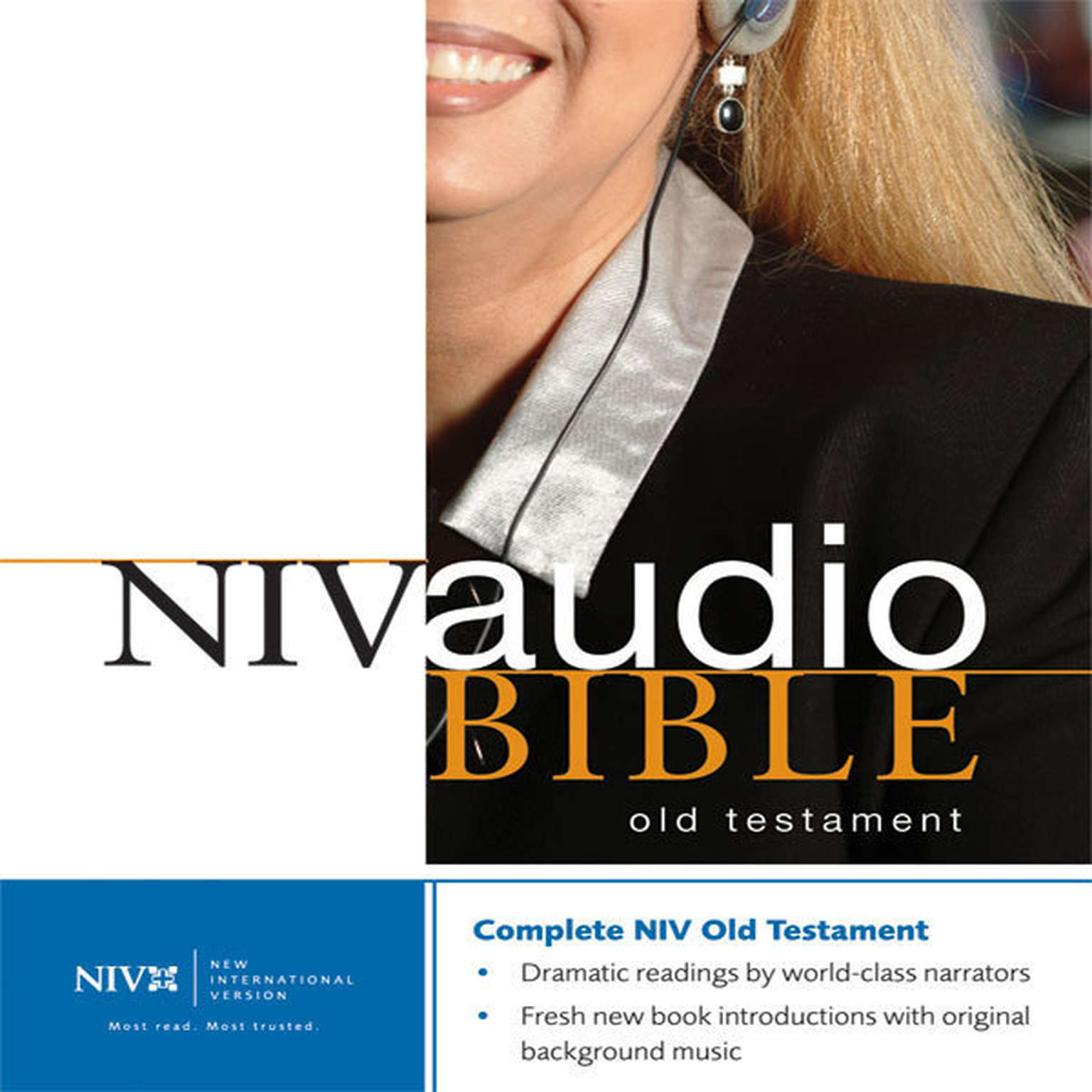 Printable NIV, Dramatized Audio Old Testament, Audio Download: Multi-voice Edition Audiobook Cover Art
