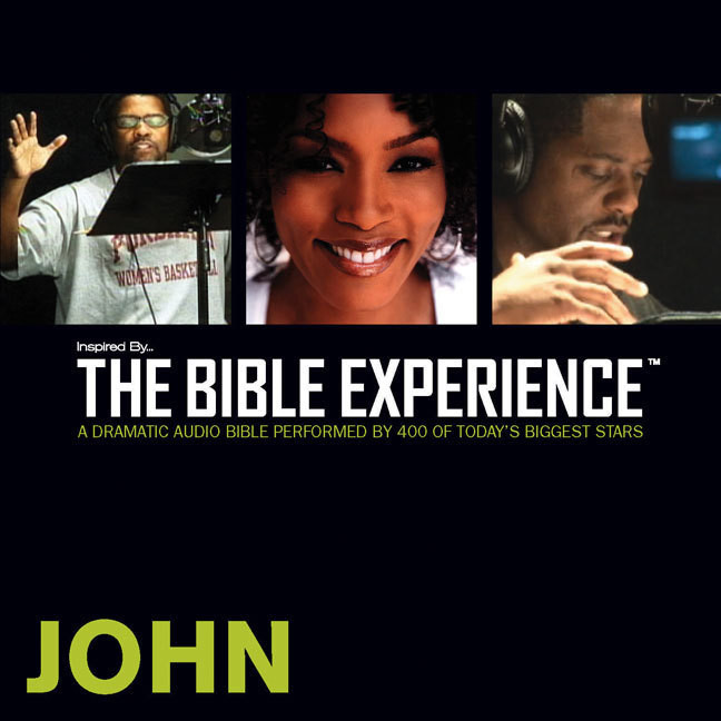 Printable TNIV, Inspired By … The Bible Experience: John, Audio Download Audiobook Cover Art