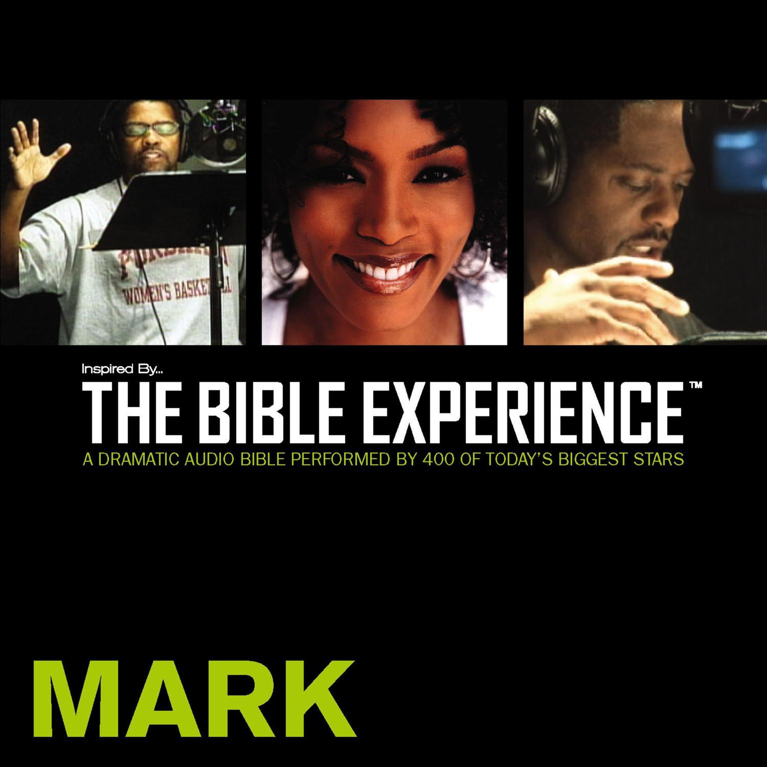 Printable TNIV, Inspired by…The Bible Experience: Mark, Audio Download Audiobook Cover Art