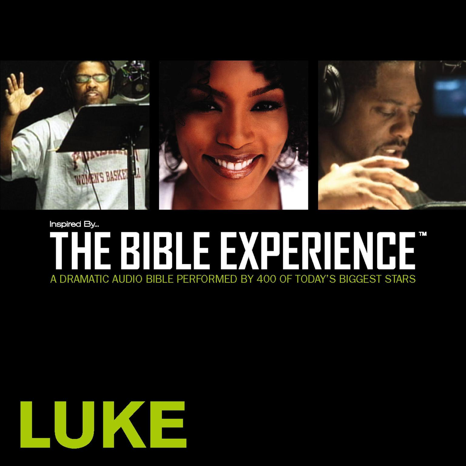 Printable TNIV, Inspired By … The Bible Experience: Luke, Audio Download Audiobook Cover Art