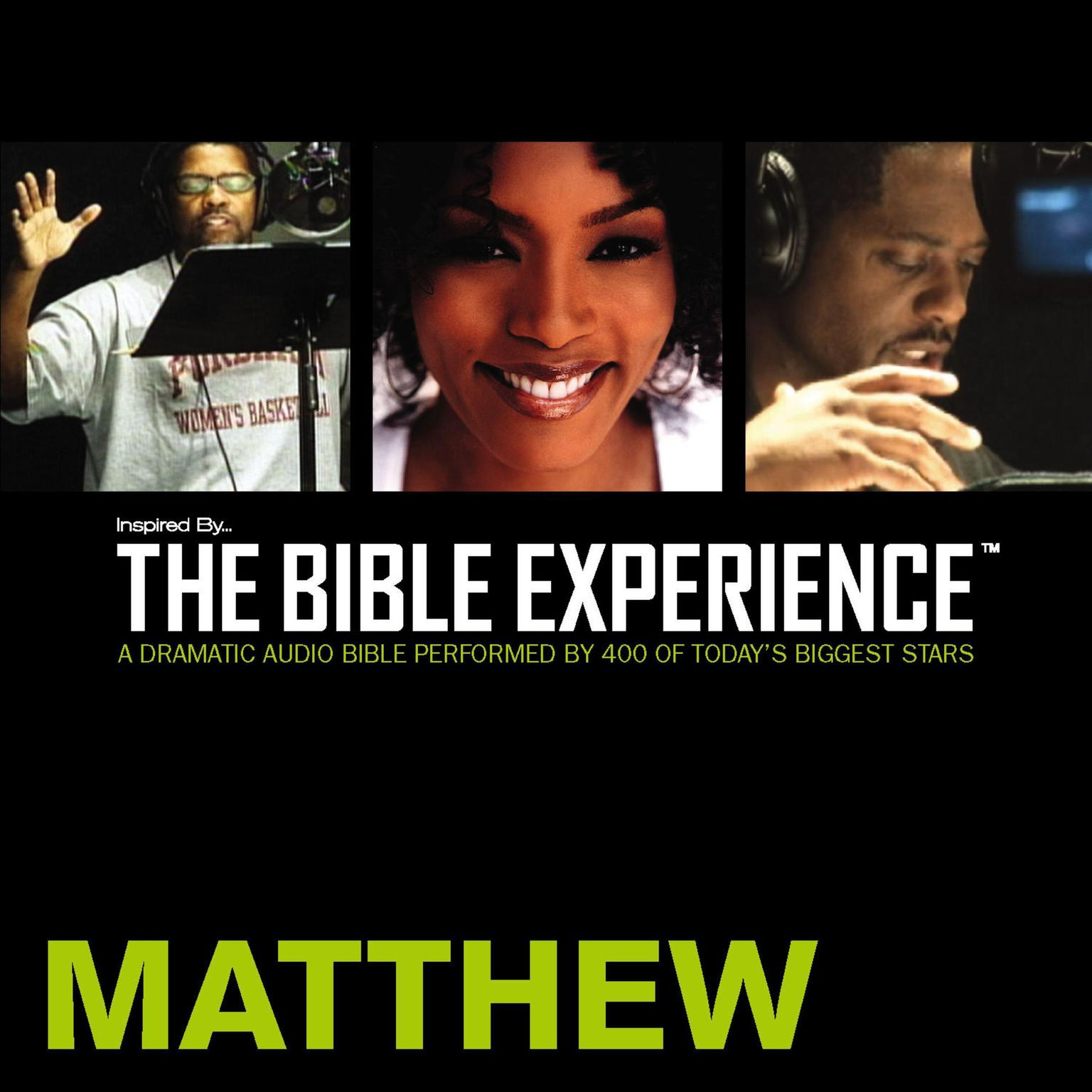 Printable TNIV, Inspired By…The Bible Experience: Matthew, Audio Download Audiobook Cover Art