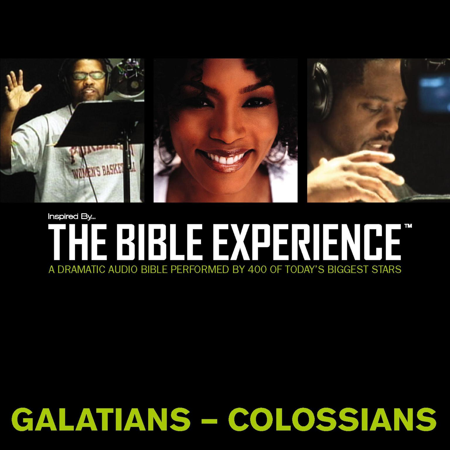 Printable Inspired By … The Bible Experience Audio Bible - Today's New International Version, TNIV: (36) Galatians, Ephesians, Philippians, and Colossians Audiobook Cover Art