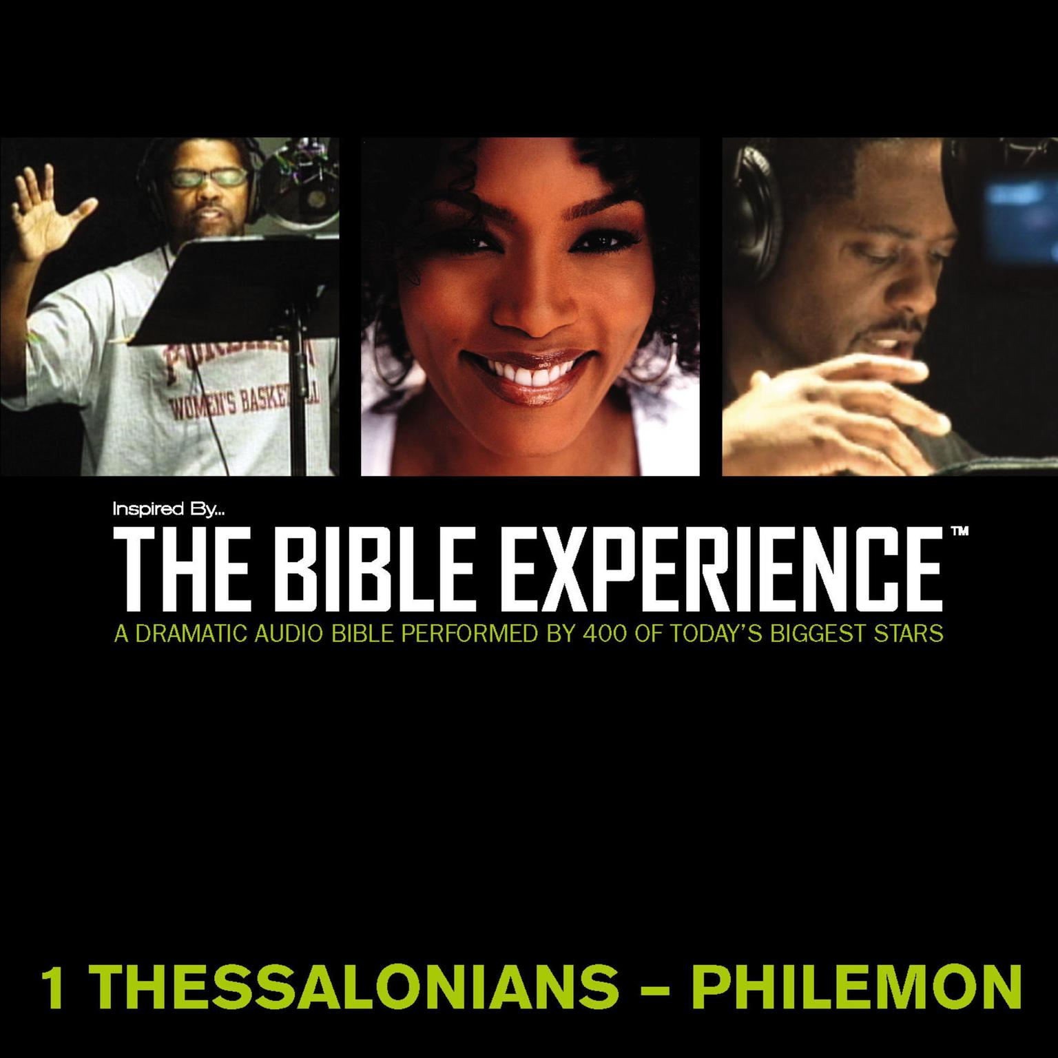 Printable Inspired By … The Bible Experience Audio Bible - Today's New International Version, TNIV: (37) 1 and 2 Thessalonians, 1 and 2 Timothy, Titus, and Philemon Audiobook Cover Art