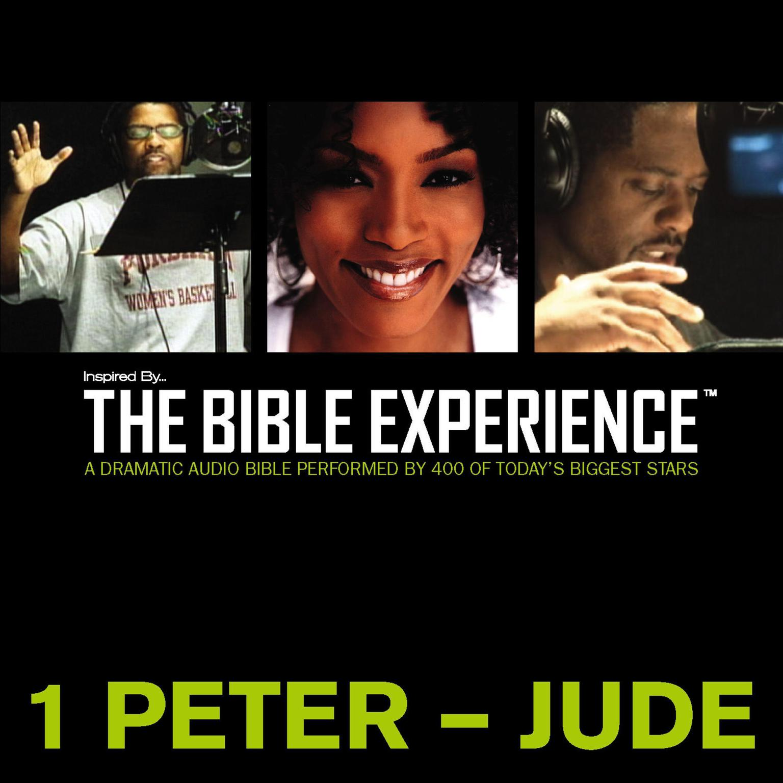 Printable TNIV, Inspired By … The Bible Experience: 1 Peter - Jude, Audio Download Audiobook Cover Art