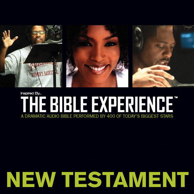 Printable Inspired By … The Bible Experience Audio Bible - Today's New International Version, TNIV: New Testament Audiobook Cover Art
