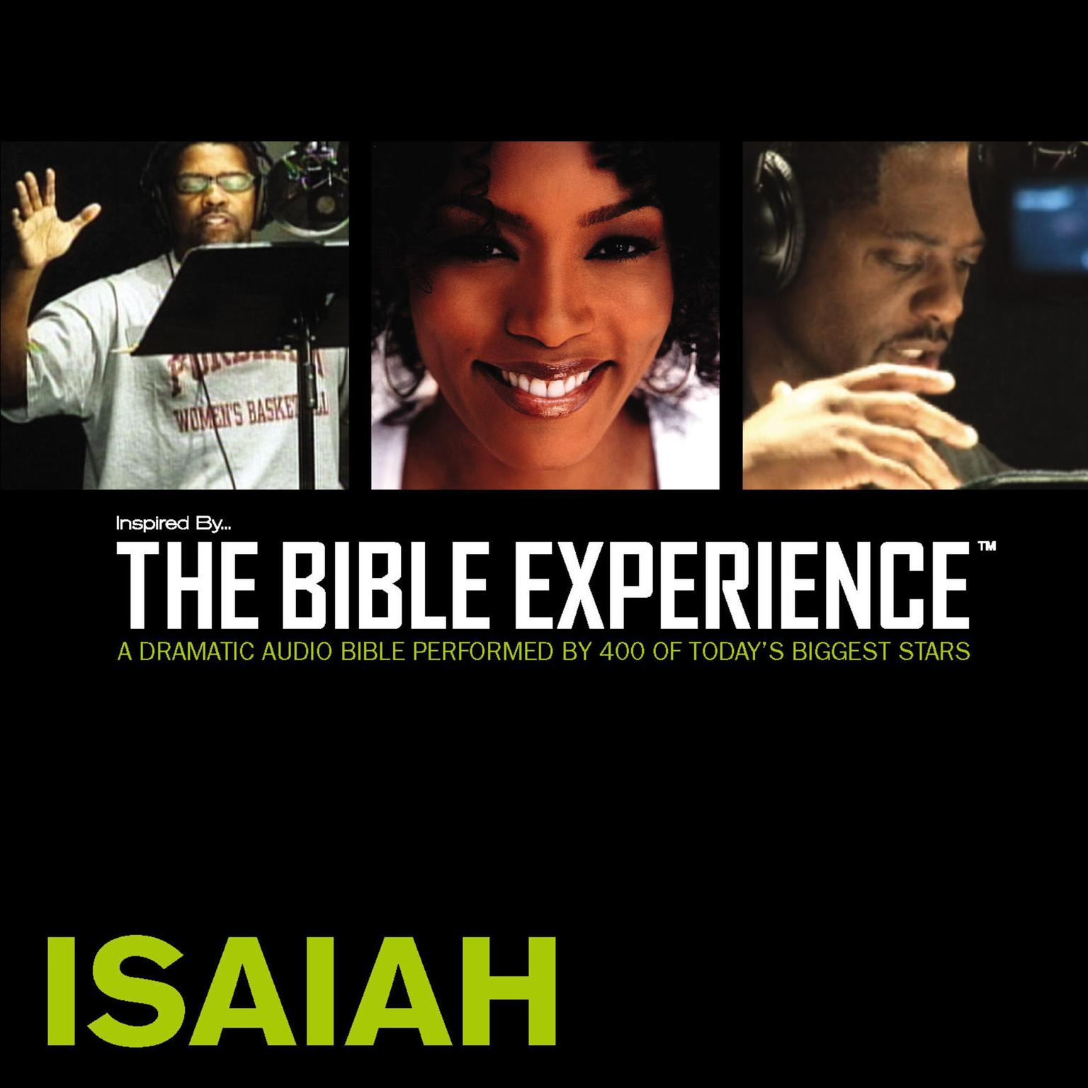 Printable Inspired By … The Bible Experience Audio Bible - Today's New International Version, TNIV: (21) Isaiah Audiobook Cover Art
