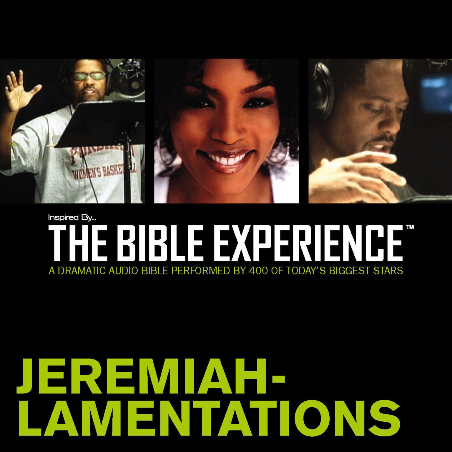 Printable TNIV, Inspired By…The Bible Experience: Jeremiah - Lamentations, Audio Download Audiobook Cover Art
