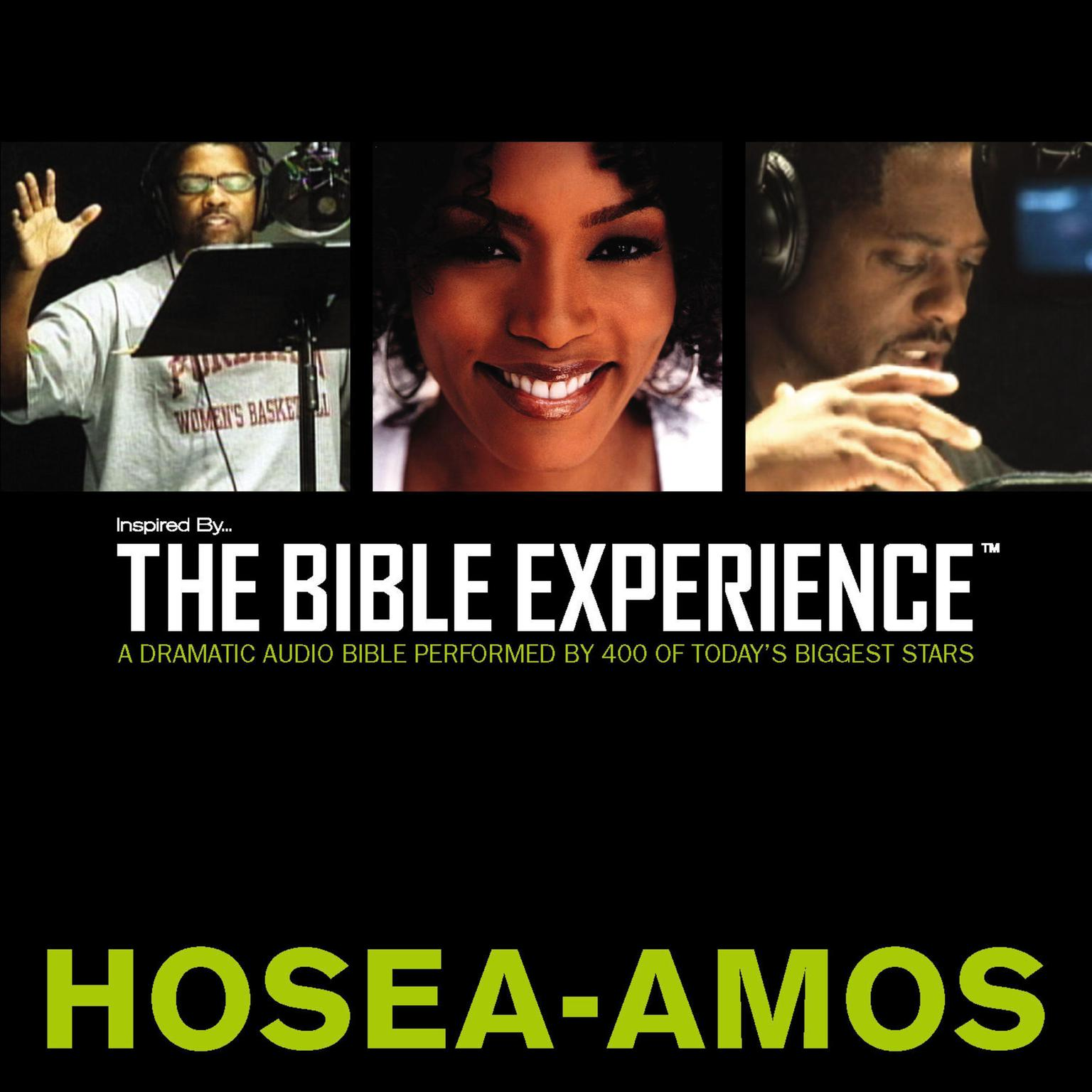 Printable TNIV, Inspired By…The Bible Experience: Hosea - Amos, Audio Download Audiobook Cover Art
