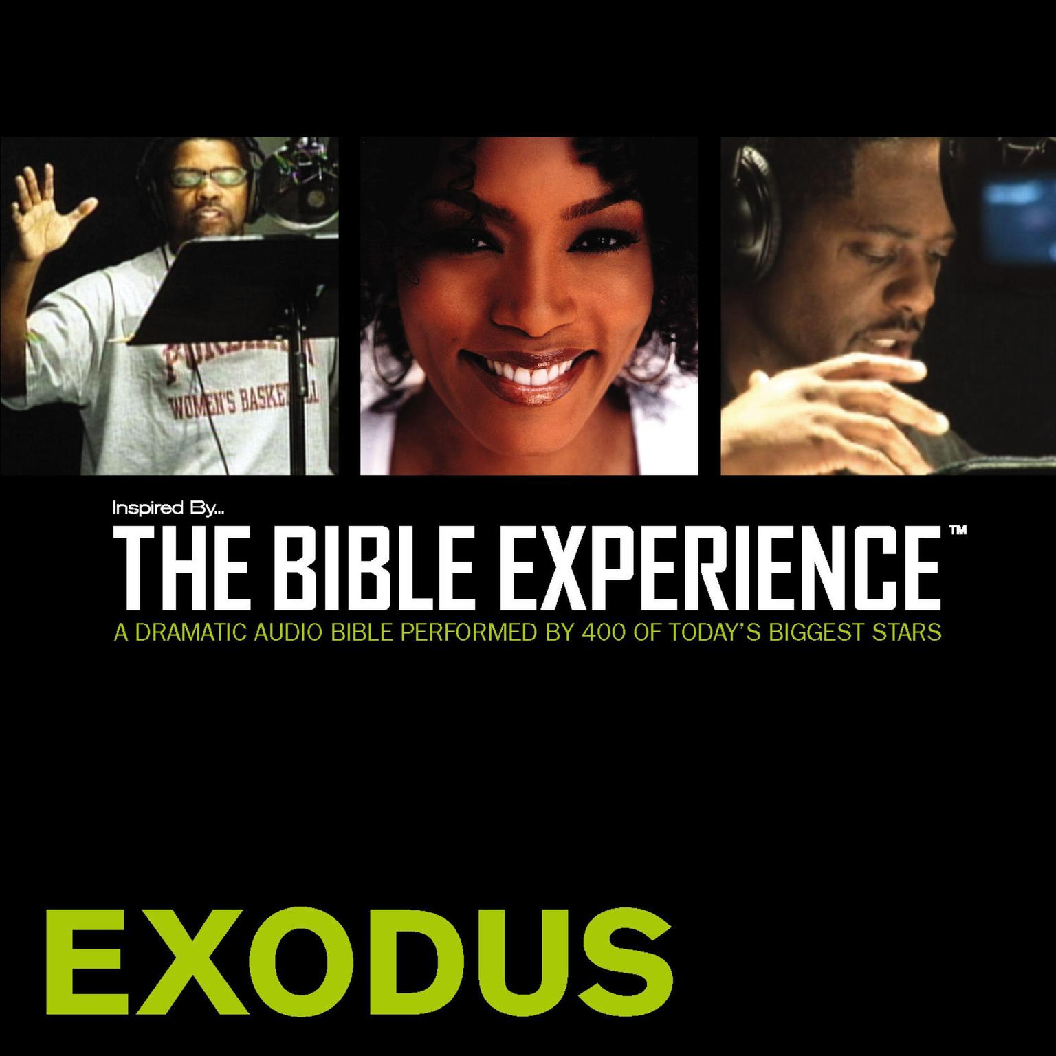 Printable TNIV, Inspired By…The Bible Experience: Exodus, Audio Download Audiobook Cover Art
