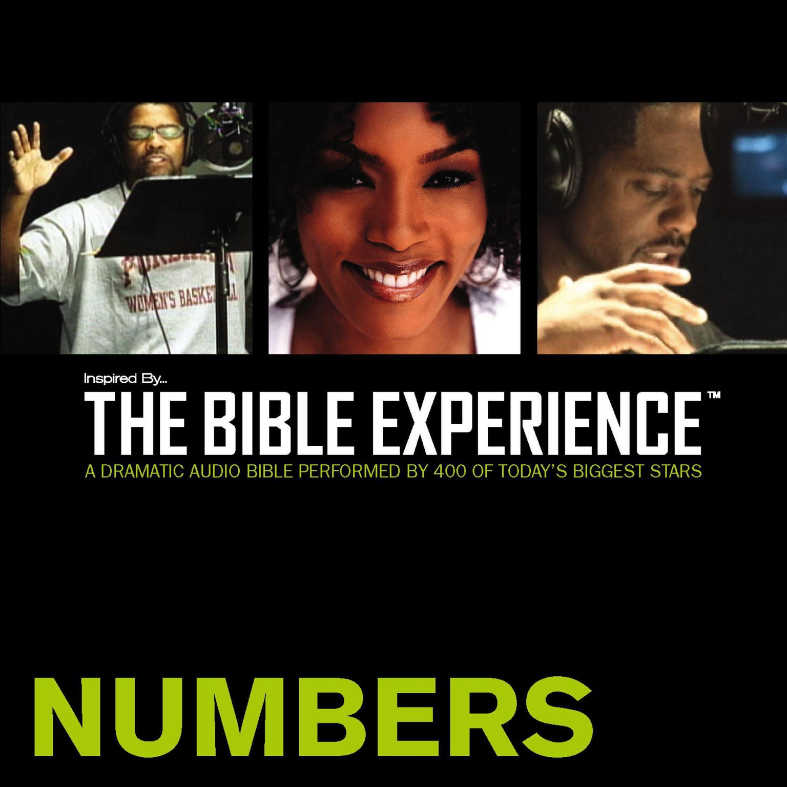 Printable Inspired By … The Bible Experience Audio Bible - Today's New International Version, TNIV: (04) Numbers Audiobook Cover Art