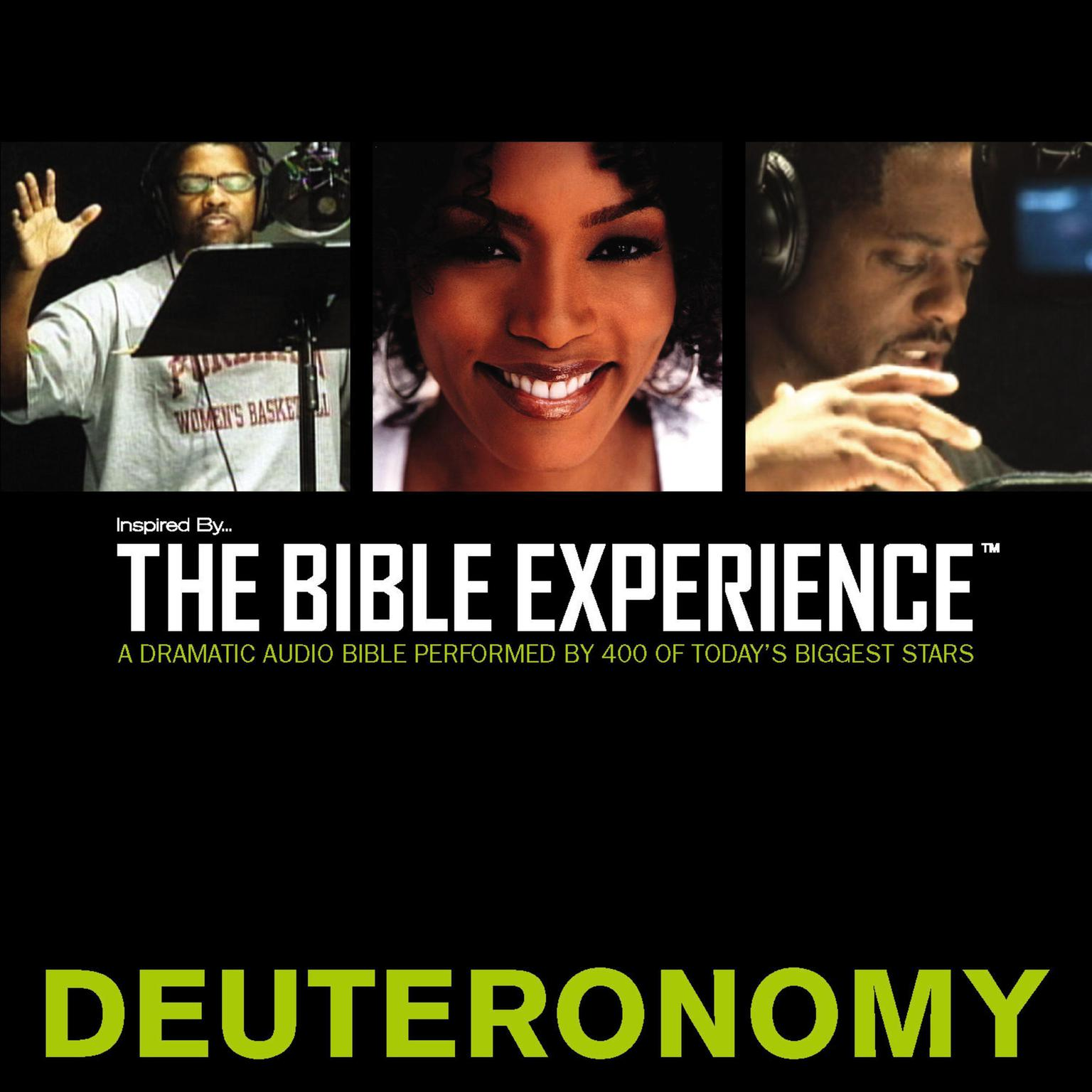 Printable TNIV, Inspired By … The Bible Experience: Deuteronomy, Audio Download Audiobook Cover Art