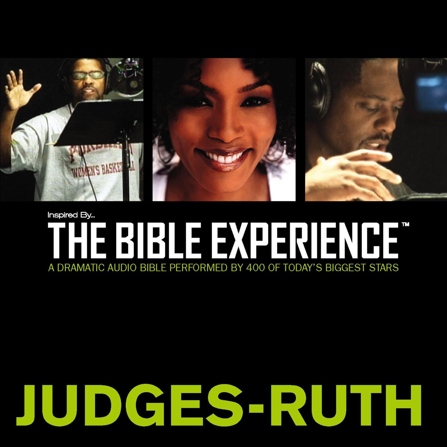Printable Inspired By … The Bible Experience Audio Bible - Today's New International Version, TNIV: (07) Judges and Ruth Audiobook Cover Art