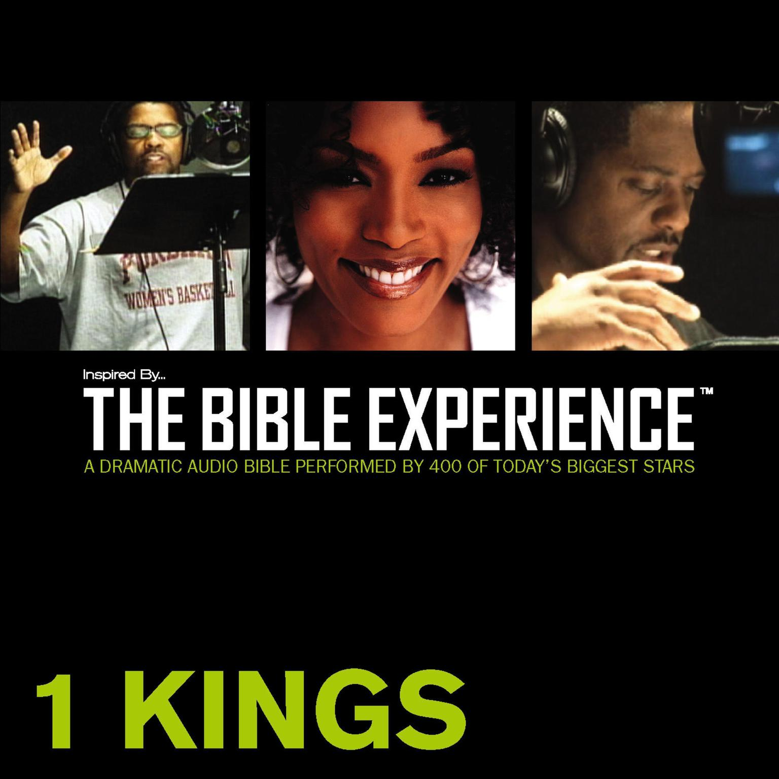 Printable TNIV, Inspired By … The Bible Experience: 1 Kings, Audio Download Audiobook Cover Art