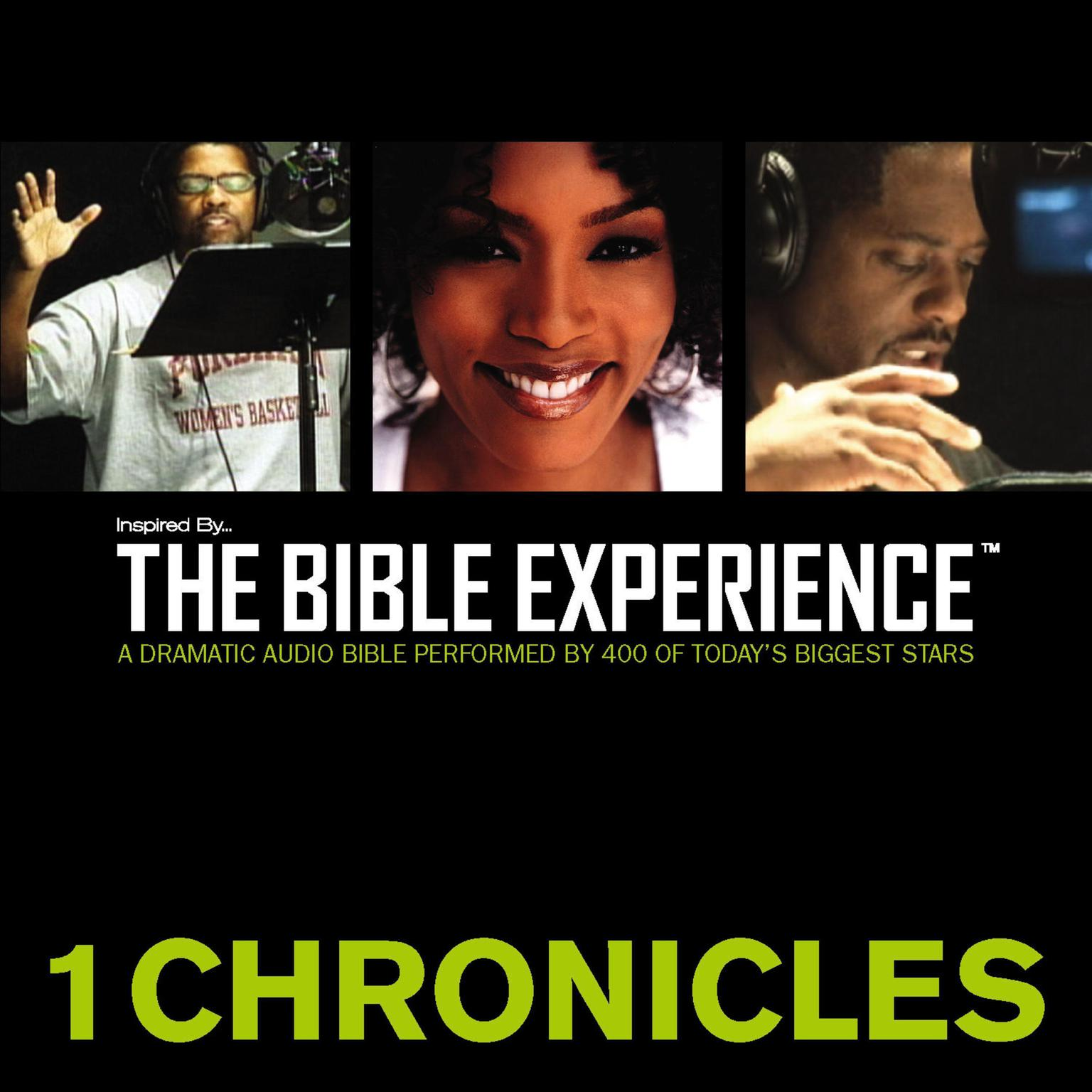 Printable Inspired By … The Bible Experience Audio Bible - Today's New International Version, TNIV: (12) 1 Chronicles Audiobook Cover Art
