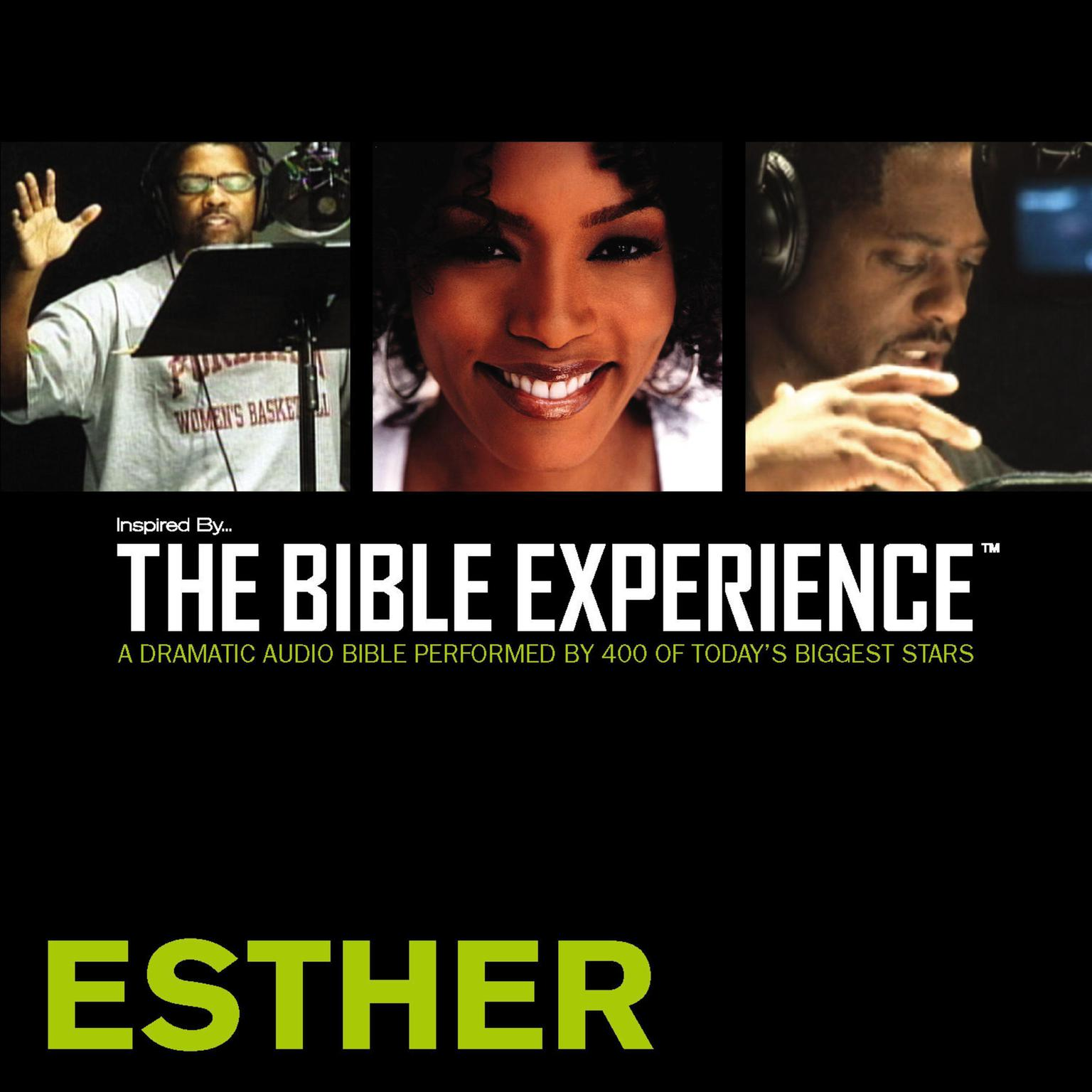 Printable TNIV, Inspired By…The Bible Experience: Esther, Audio Download Audiobook Cover Art