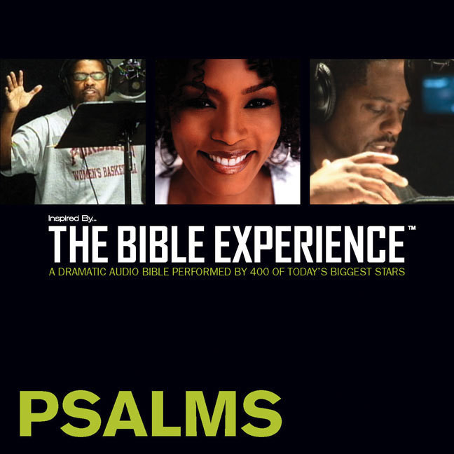 Printable TNIV, Inspired By … The Bible Experience: Psalms, Audio Download Audiobook Cover Art
