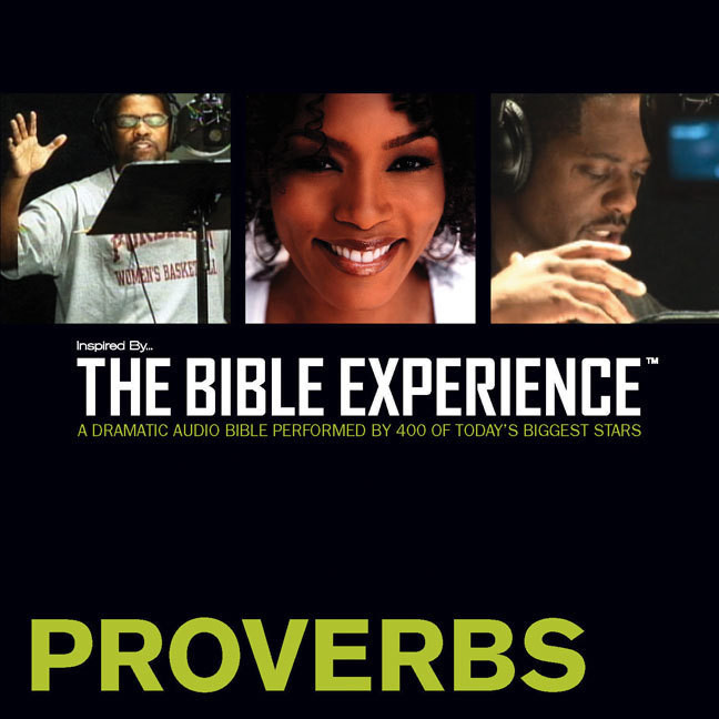 Printable TNIV, Inspired By…The Bible Experience: Proverbs, Audio Download Audiobook Cover Art