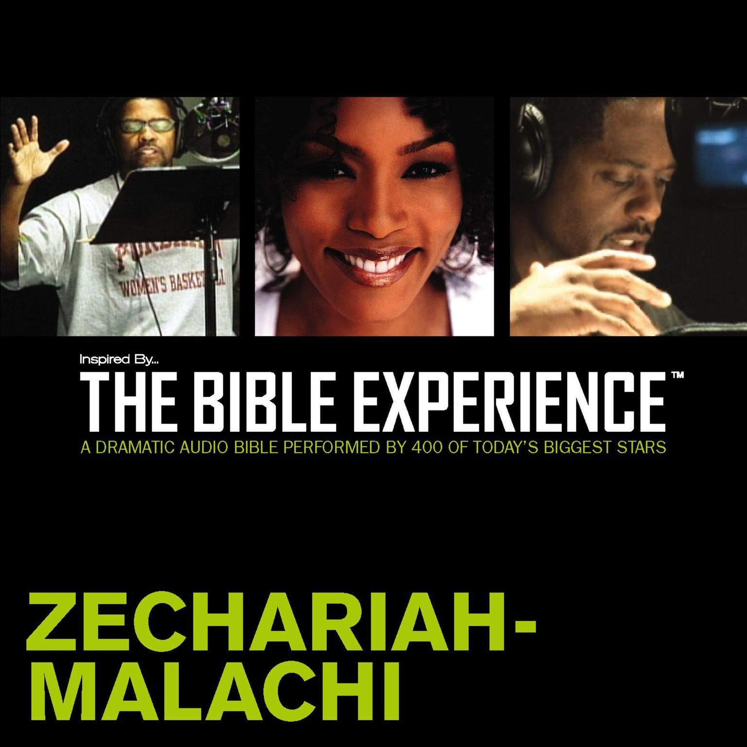 Printable TNIV, Inspired By … The Bible Experience: Zechariah - Malachi, Audio Download Audiobook Cover Art