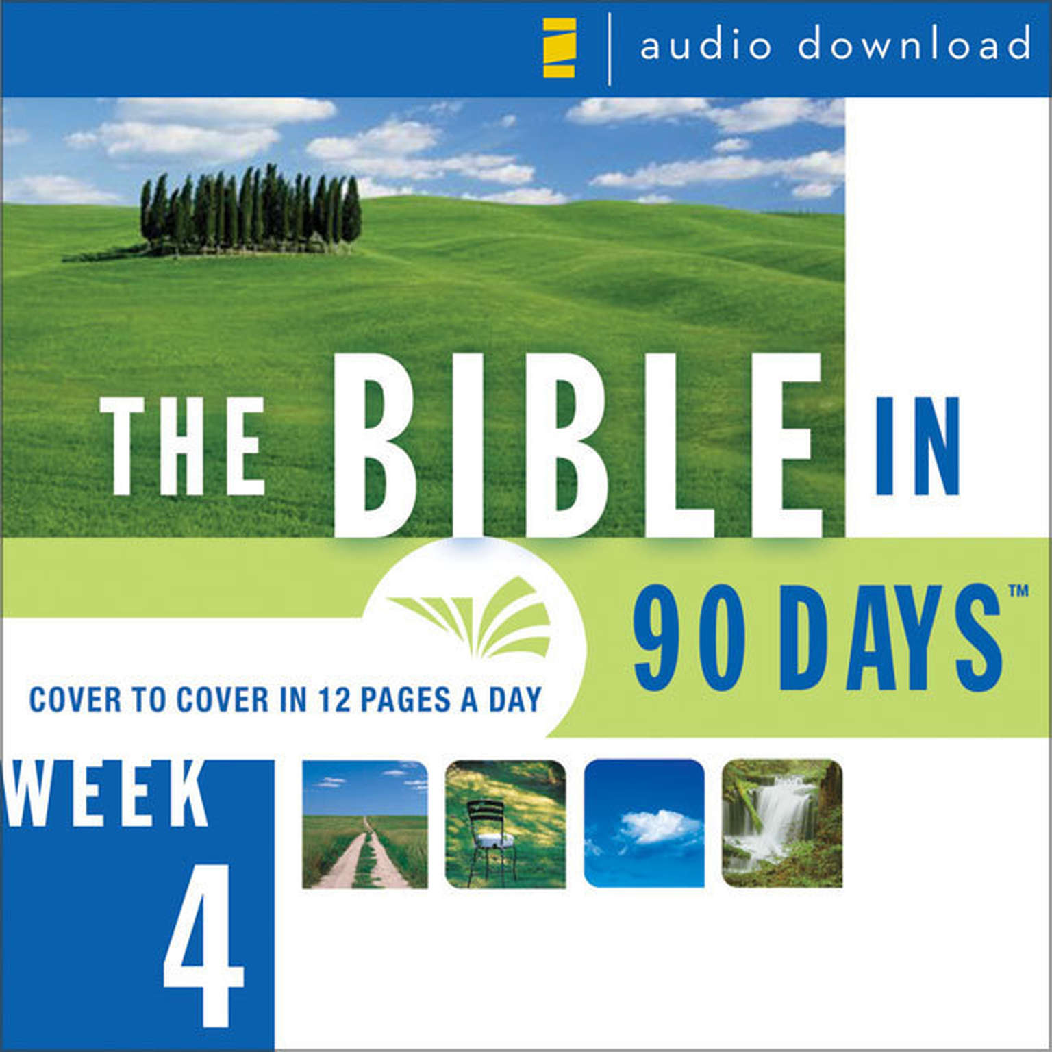 Printable The Bible in 90 Days: Week 4: 1 Samuel 29:1 - 2 Kings 25:30 Audiobook Cover Art