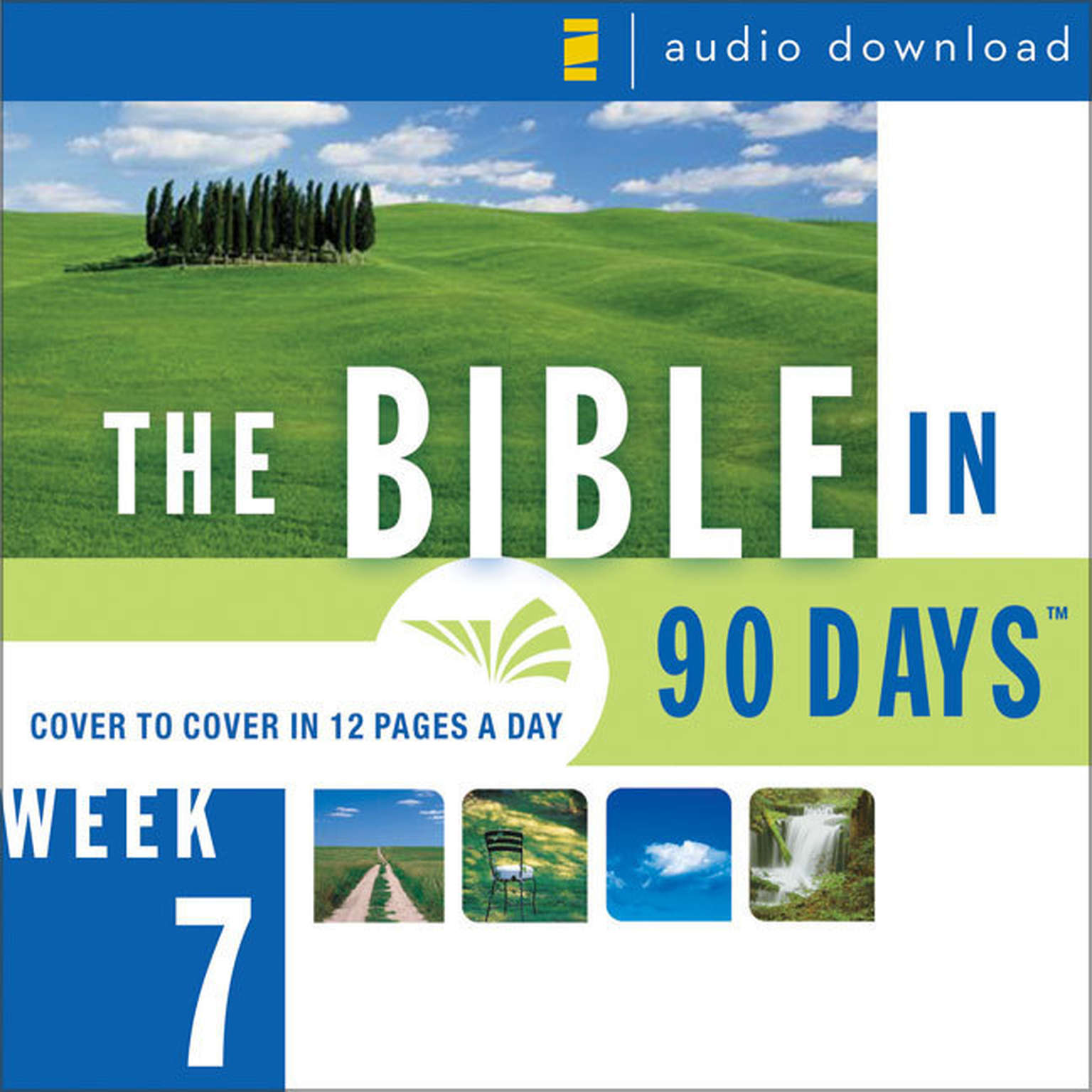 Printable The Bible in 90 Days: Week 7: Psalm 90:1 - Isaiah 13:22 Audiobook Cover Art