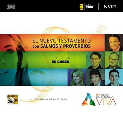 NVI Biblia Experiencia Viva, Nuevo Testamento con Salmos y Proverbios Audiobook, by Zondervan