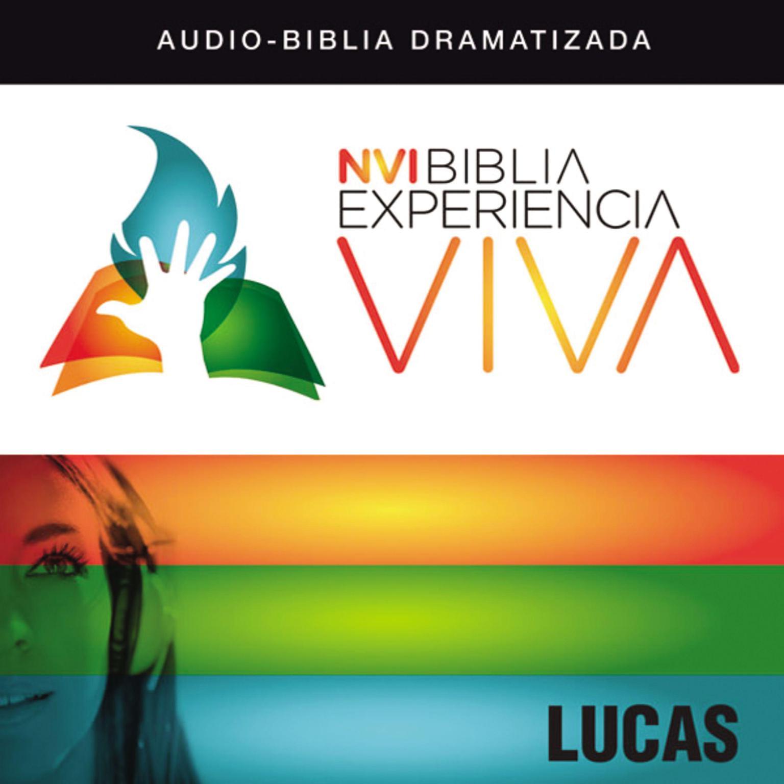 Printable NVI Biblia Experiencia Viva: Lucas Audiobook Cover Art