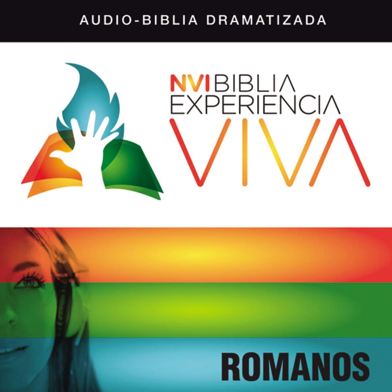 Printable NVI Biblia Experiencia Viva: Romanos Audiobook Cover Art
