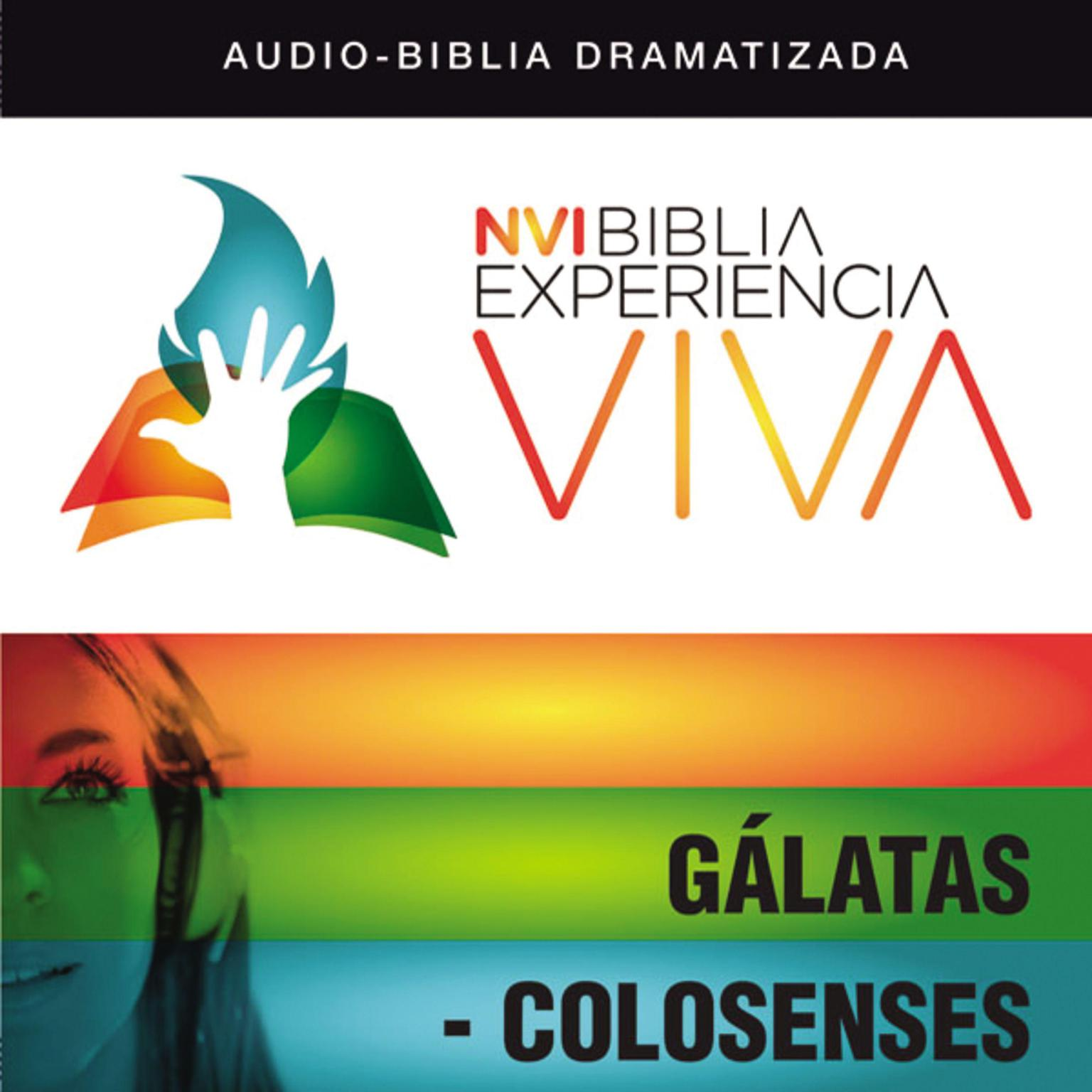 Printable NVI Biblia Experiencia Viva: Gálatas-Colosenses Audiobook Cover Art