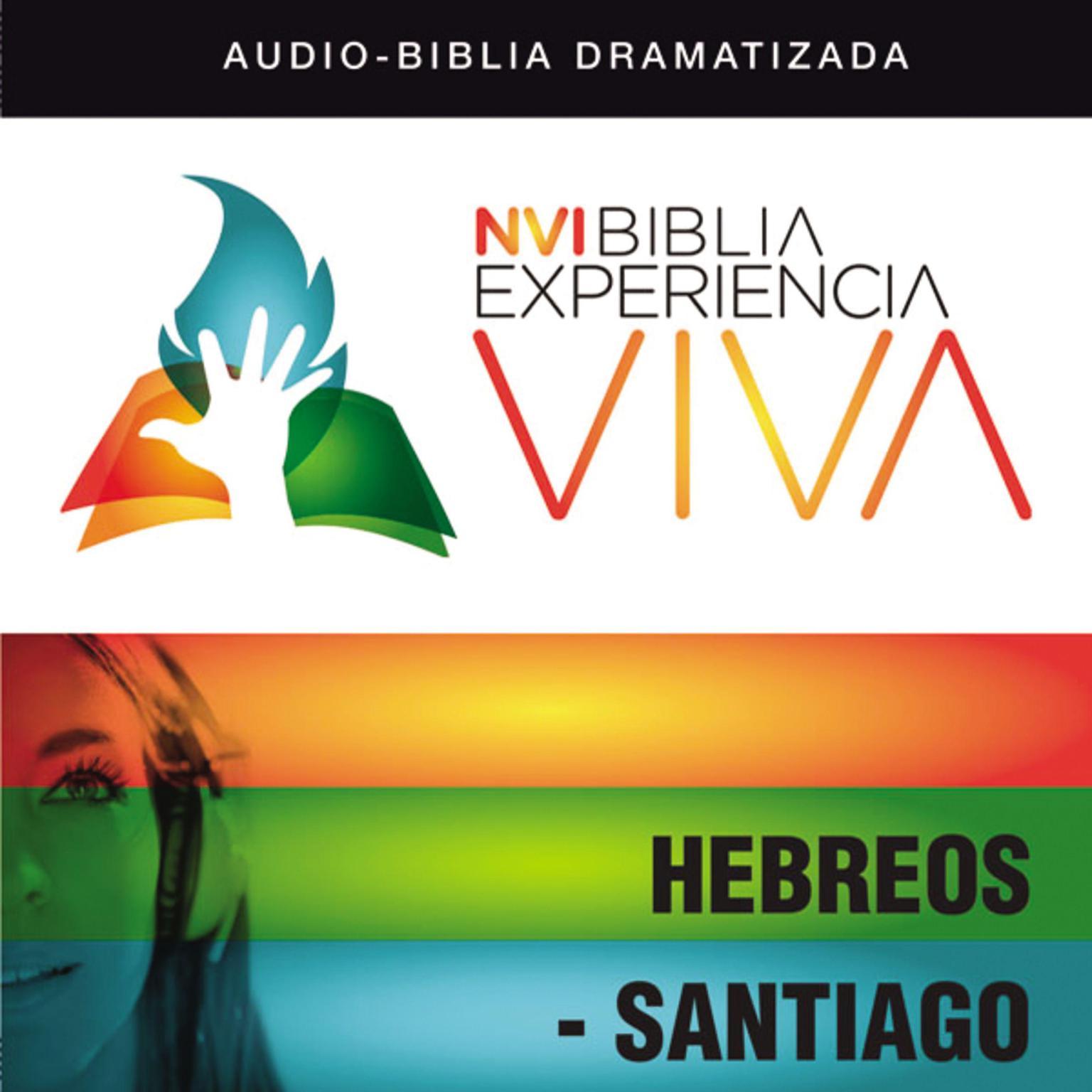 Printable NVI Experiencia Viva:  Hebreos-Santiago Audiobook Cover Art