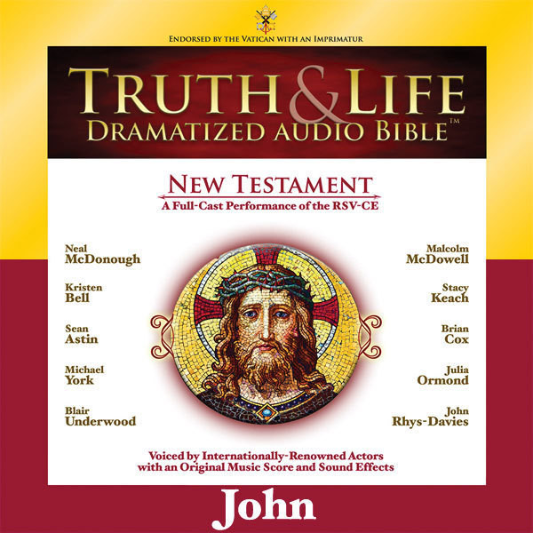 Printable RSV, Truth and Life Dramatized Audio Bible New Testament: John, Audio Download Audiobook Cover Art