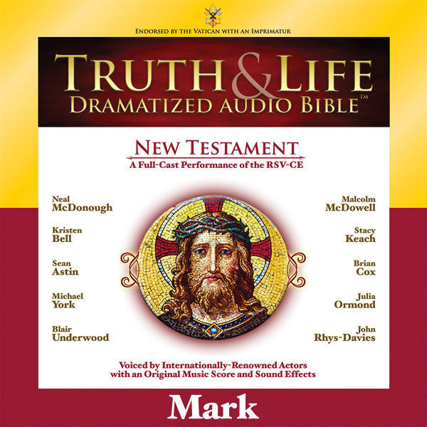 Printable RSV, Truth and Life Dramatized Audio Bible New Testament: Mark, Audio Download Audiobook Cover Art