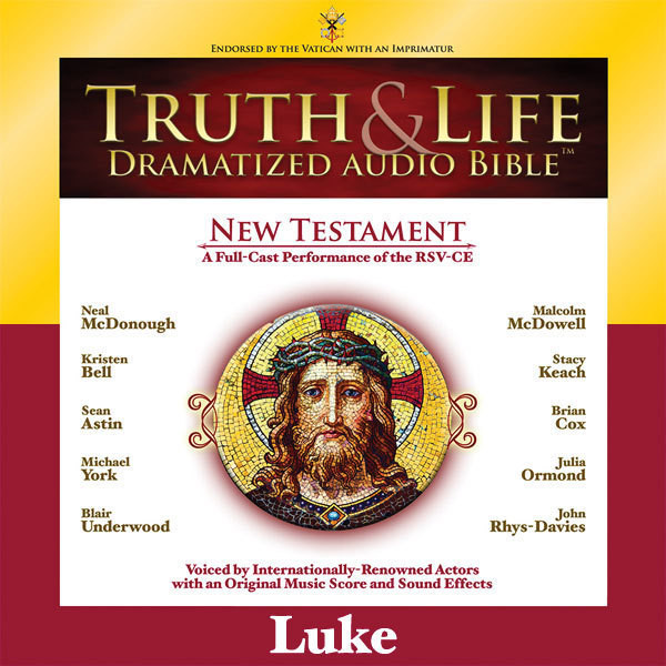 Printable RSV, Truth and Life Dramatized Audio Bible New Testament: Luke, Audio Download Audiobook Cover Art