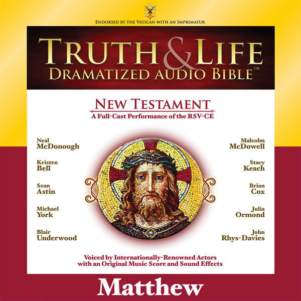 Printable RSV, Truth and Life Dramatized Audio Bible New Testament: Matthew, Audio Download Audiobook Cover Art