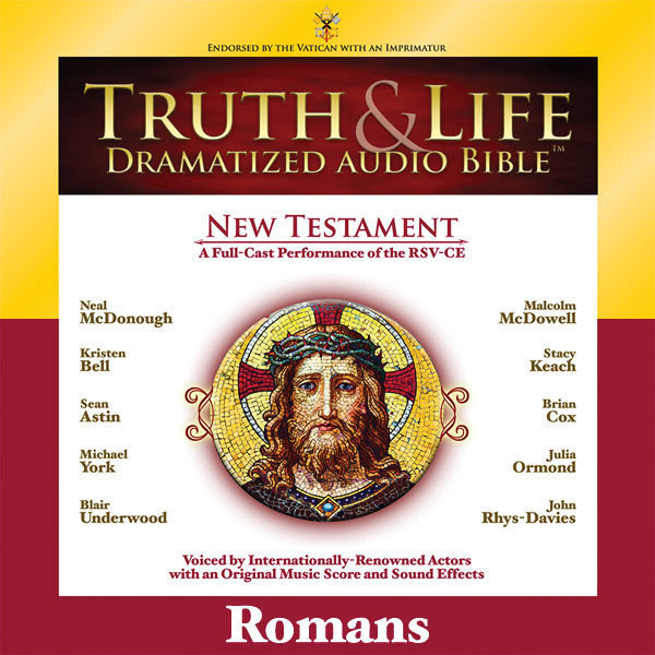 Printable RSV, Truth and Life Dramatized Audio Bible New Testament: Romans, Audio Download Audiobook Cover Art
