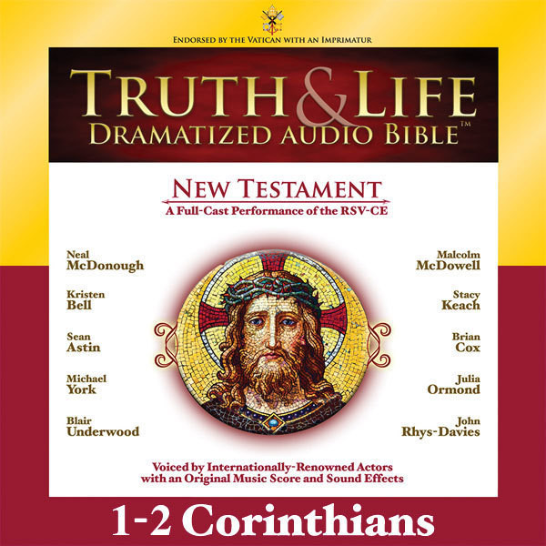 Printable RSV, Truth and Life Dramatized Audio Bible New Testament: 1 and 2 Corinthians, Audio Download Audiobook Cover Art