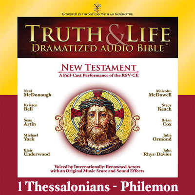 RSV, Truth and Life Dramatized Audio Bible New Testament: 1 and 2 Thessalonians, 1 and 2 Timothy, Titus, and Philemon, Audio Dow Audiobook, by Zondervan