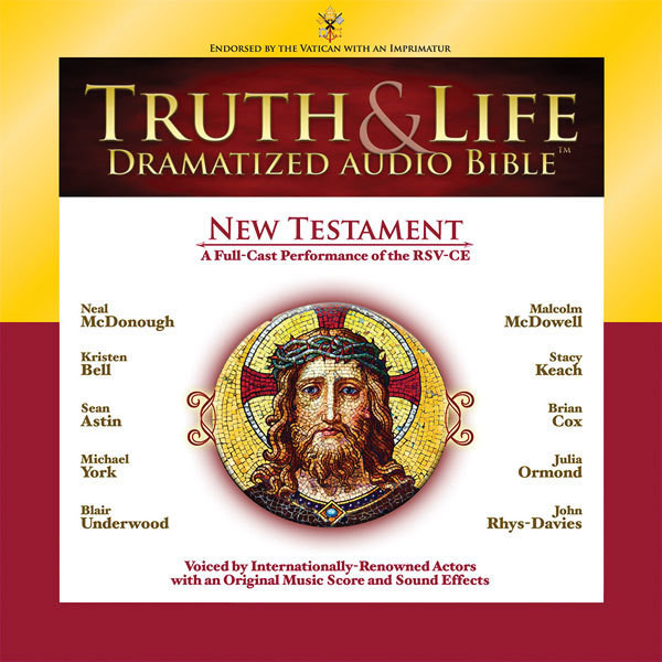 Printable RSV, Truth and Life Dramatized Audio Bible New Testament, Audio Download Audiobook Cover Art