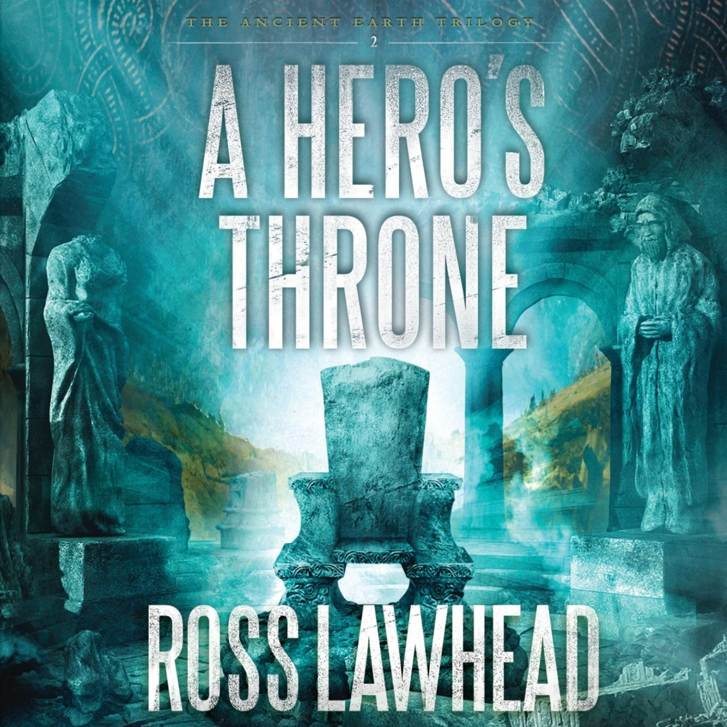 Printable A Hero's Throne Audiobook Cover Art