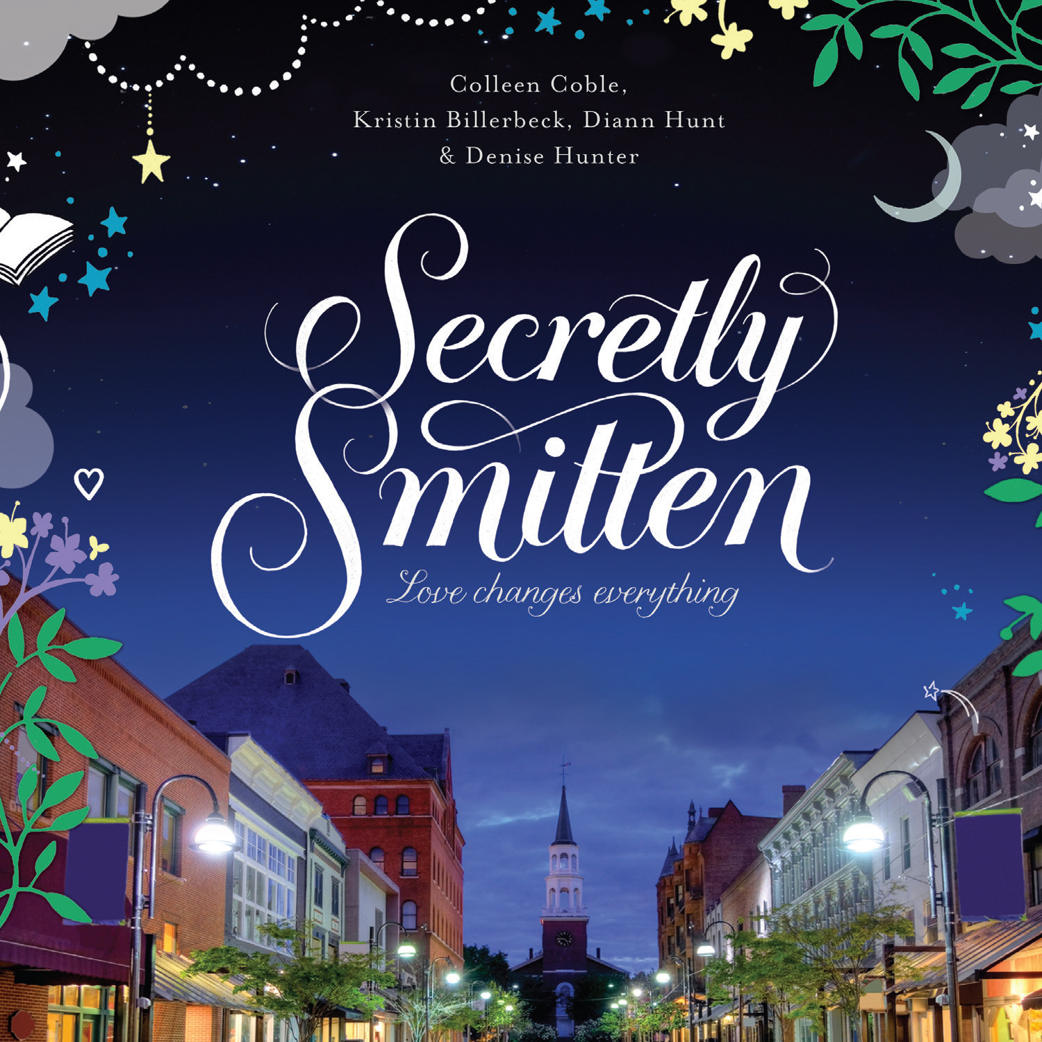 Printable Secretly Smitten Audiobook Cover Art