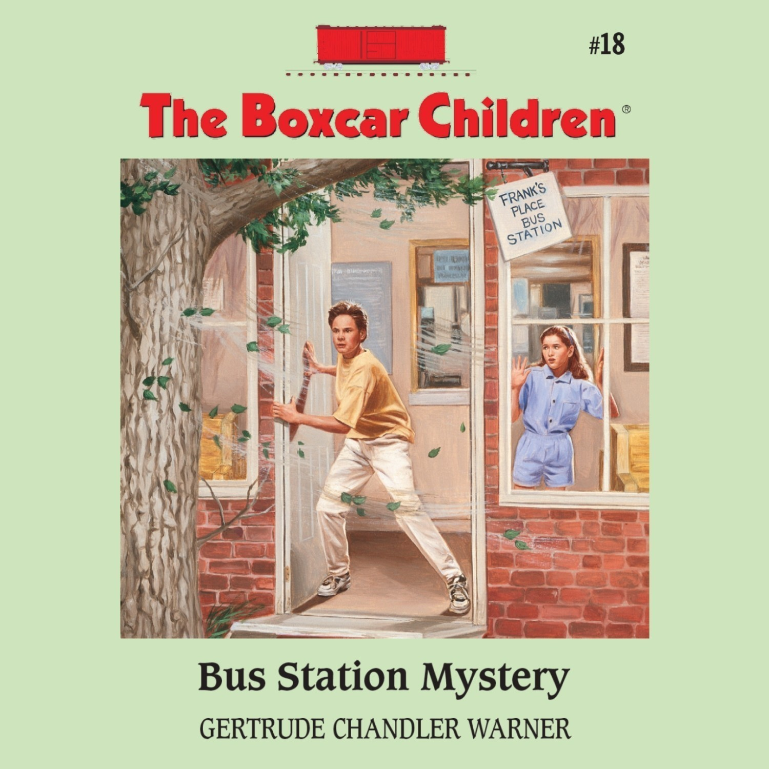 Printable Bus Station Mystery Audiobook Cover Art