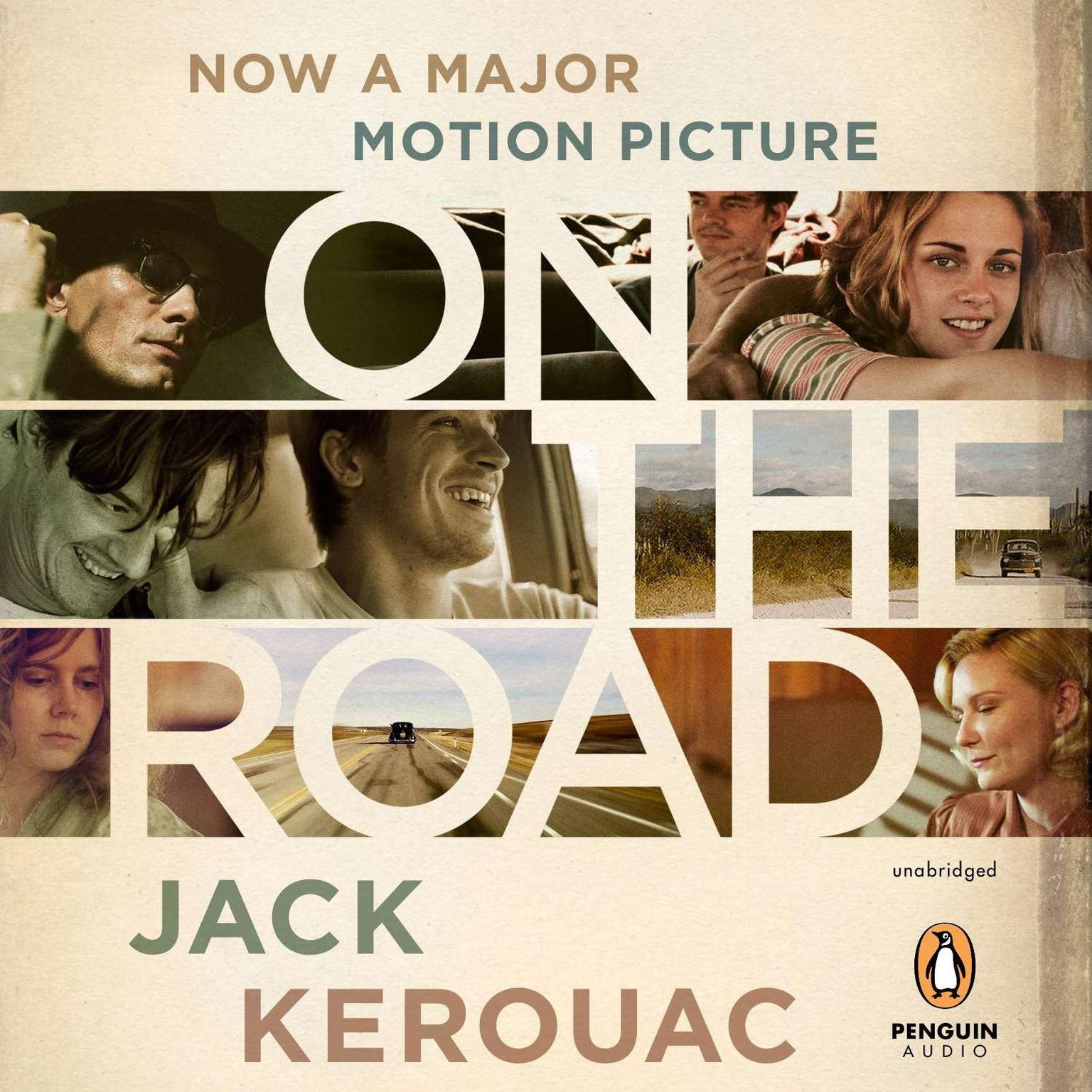 Printable On the Road: 50th Anniversary Edition Audiobook Cover Art