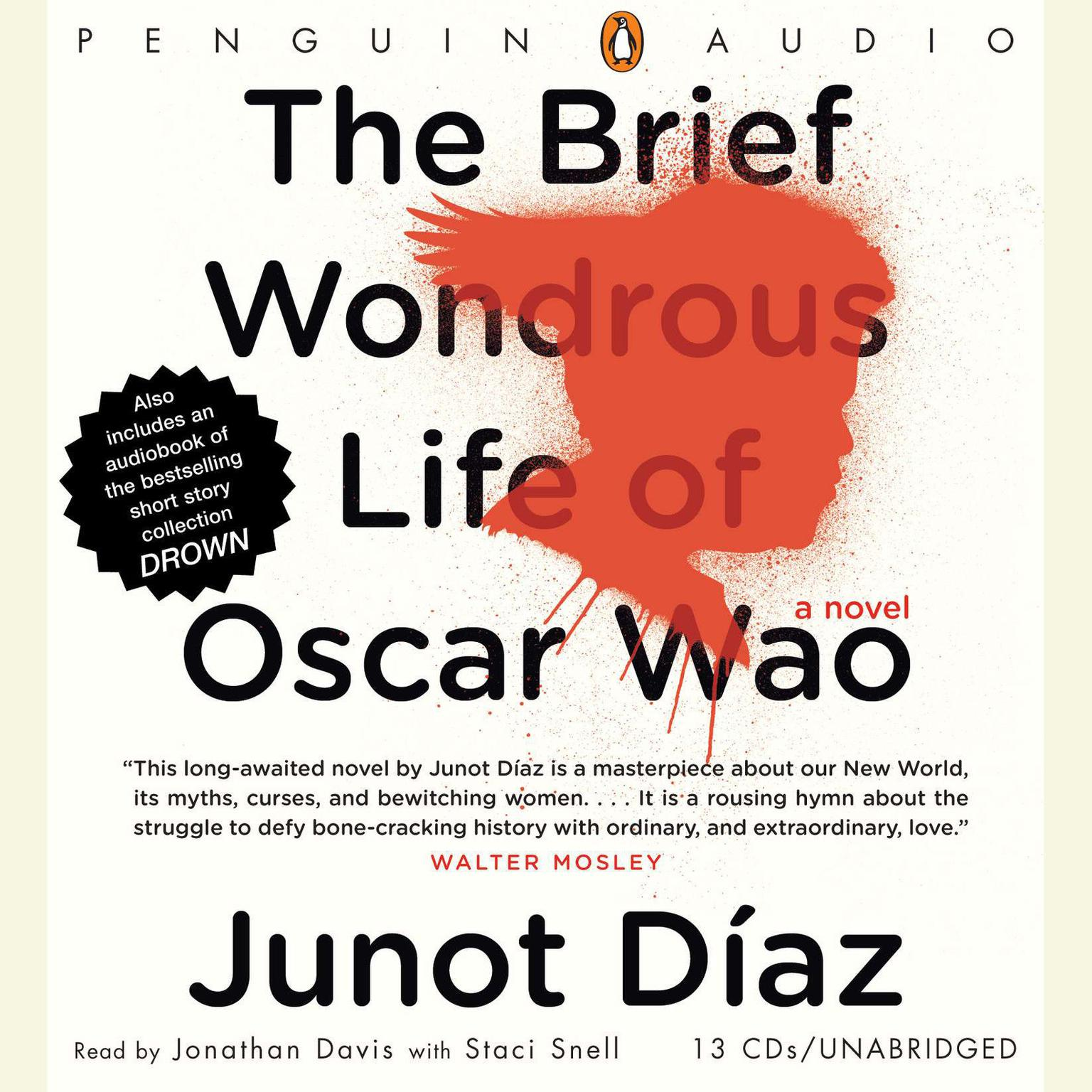 Printable The Brief Wondrous Life of Oscar Wao Audiobook Cover Art