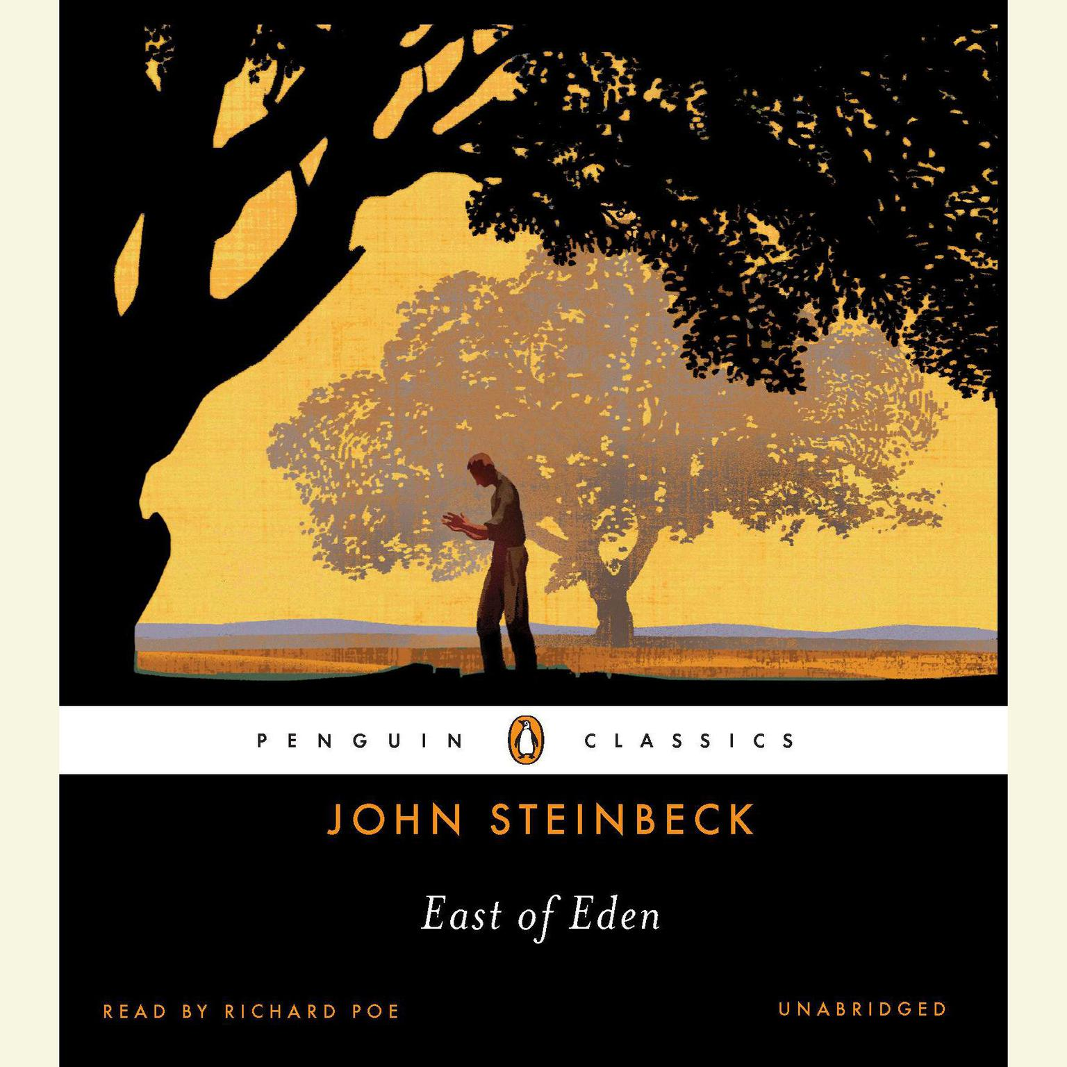Printable East of Eden Audiobook Cover Art