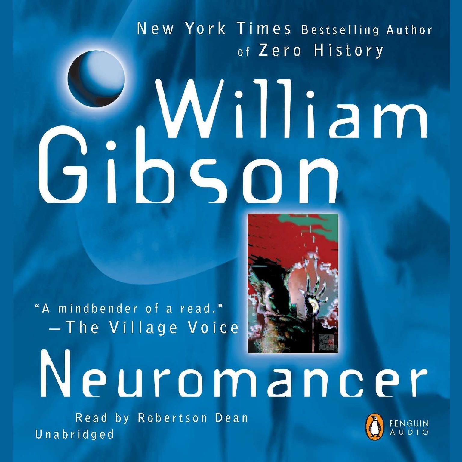 Printable Neuromancer Audiobook Cover Art