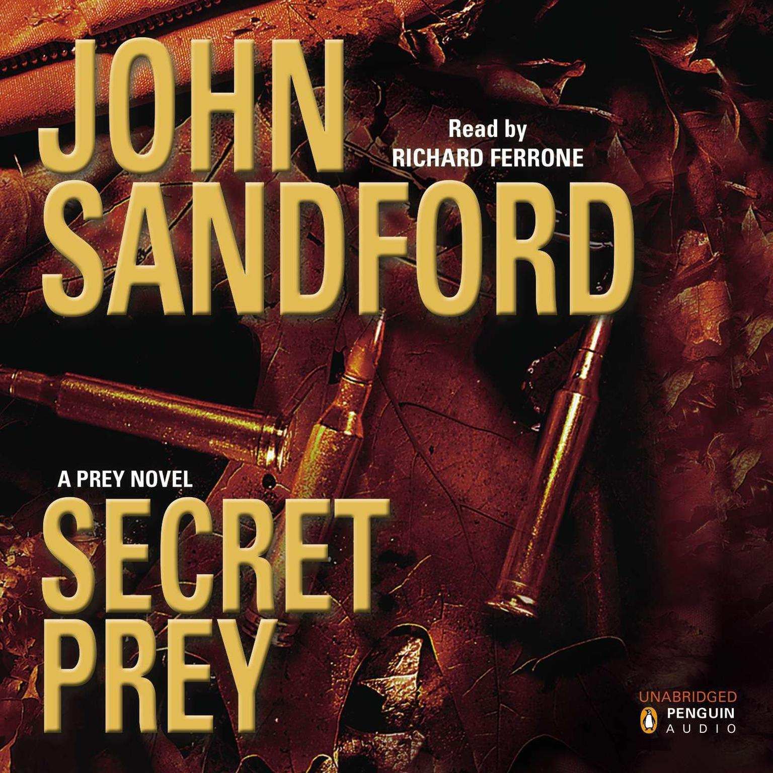 Printable Secret Prey Audiobook Cover Art