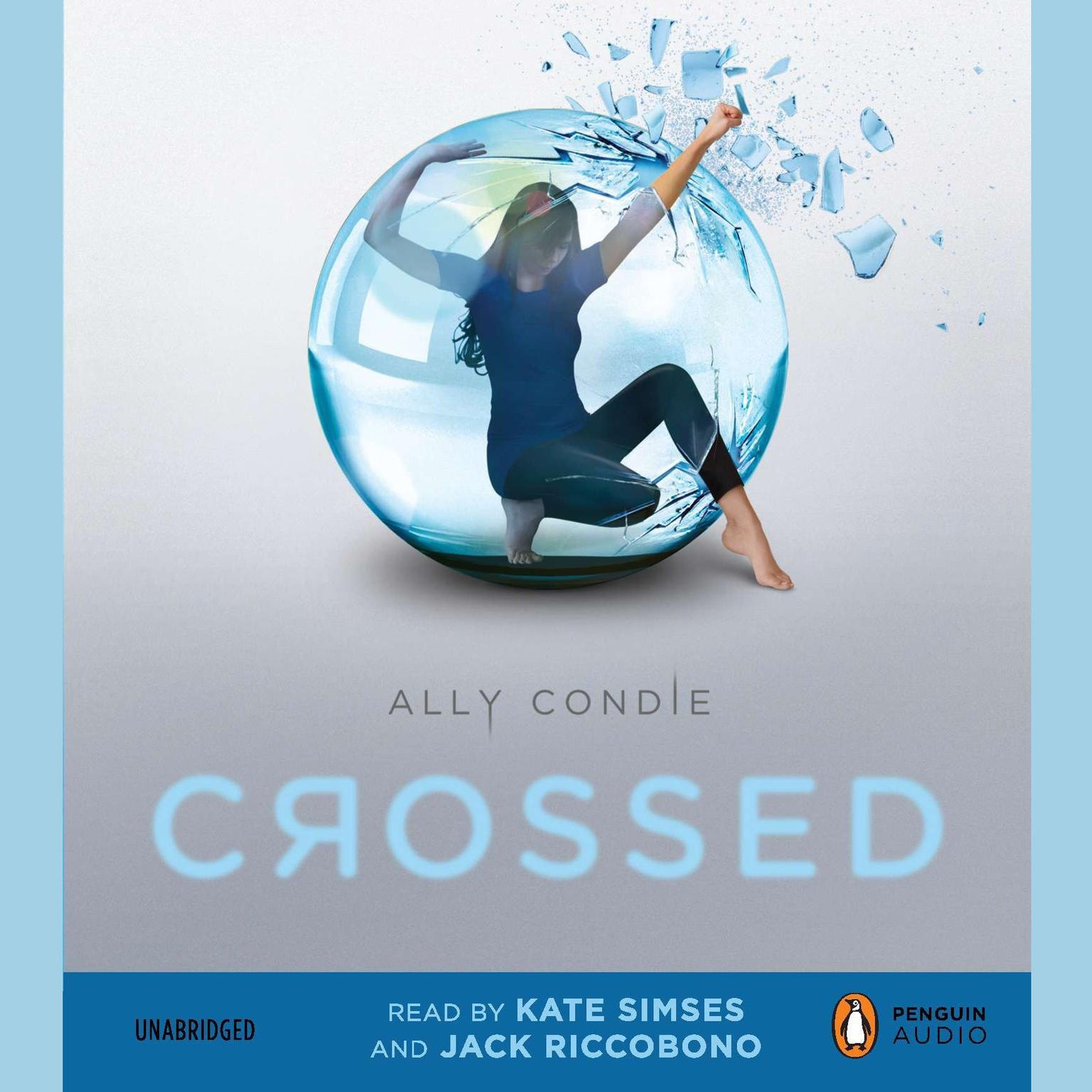 Printable Crossed Audiobook Cover Art