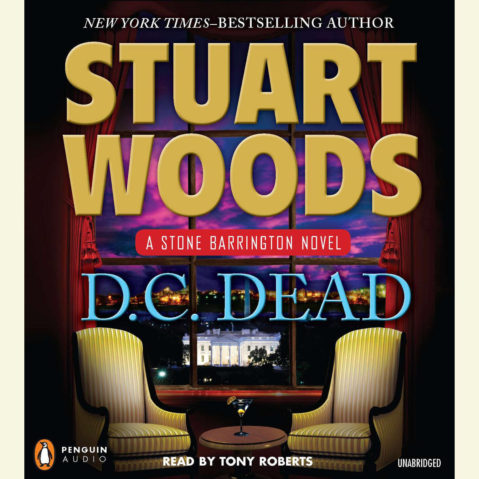 Printable D.C. Dead: A Stone Barrington Novel Audiobook Cover Art